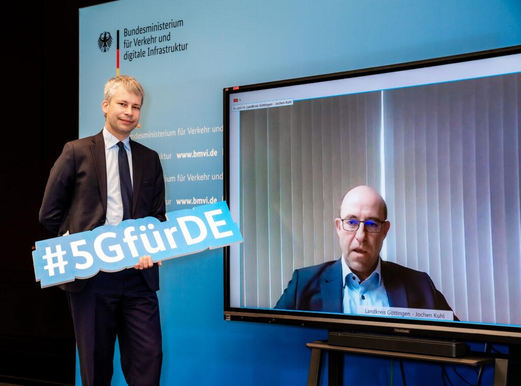 5G-Innovationswettbewerb Jochen Kuhl